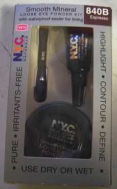 New York Color Smooth Mineral Loose Eye Powder Kit