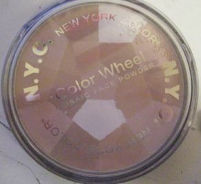 New York Color Colour Wheel Mosaic Powder Translucent Highlighter Glow