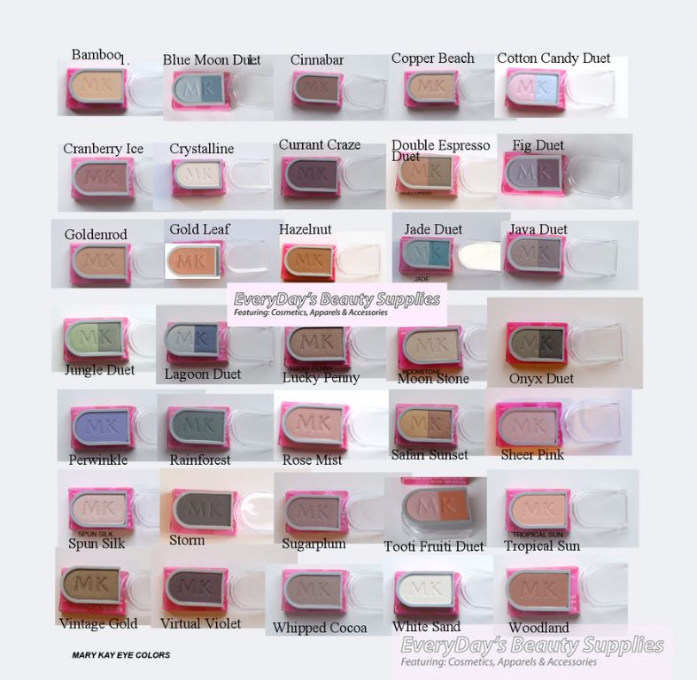 Mary Kay Eyeshadows