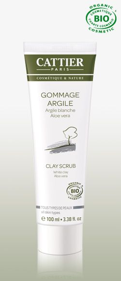 Cattier Paris - White Argile Clay Scrub