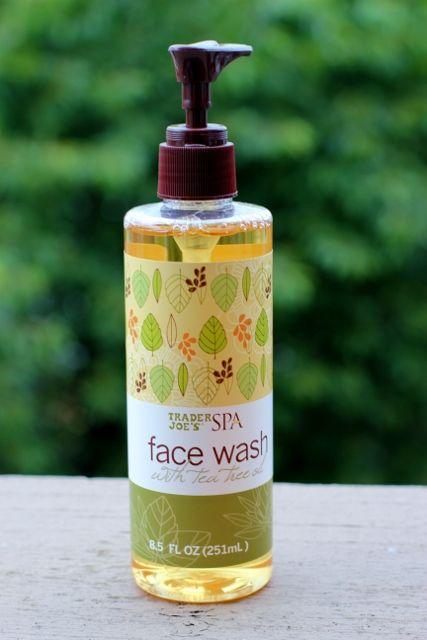 Trader Joe's Spa Face Wash with Tea Tree Oil