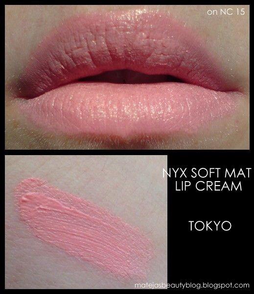 NYX Soft Matte Lip Cream in Tokyo