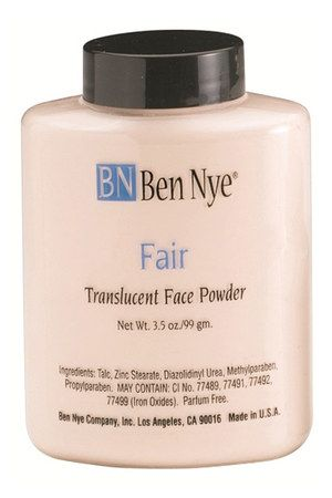 Ben Nye Translucent Face Powder - Fair