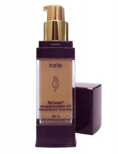 Tarte ReCreate Anti-Aging Foundation With Wrinkle Rewind Technology SPF 15 [DISCONTINUED]