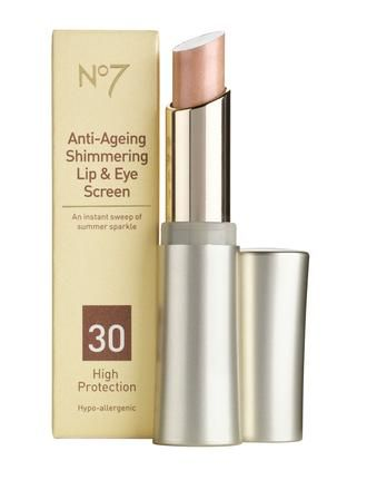 Boots  No7 shimmering lip and eye screen spf30