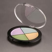 Coastal Scents Camo Quad - Color Corrector