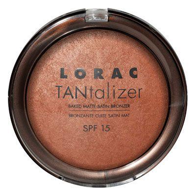 LORAC TANtalizer baked matte satin bronzer spf 15