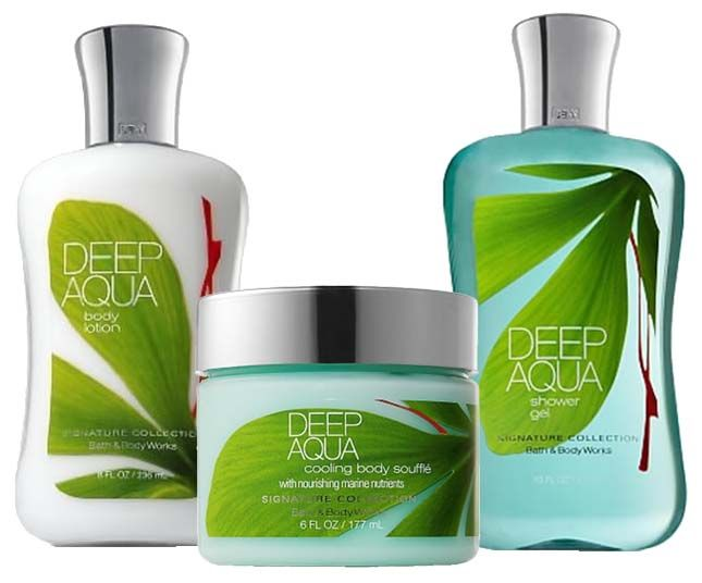 Bath and Body Works Deep Aqua