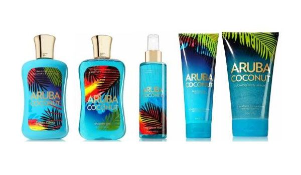 Bath and Body Works Aruba Coconut