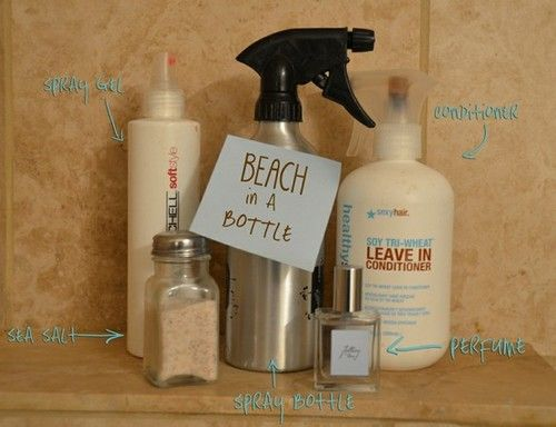 Homemade Sea Salt Spray