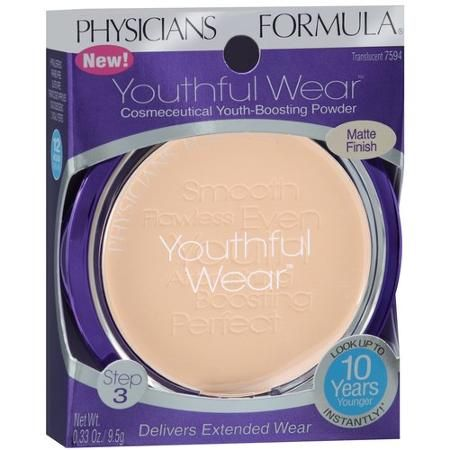 Physicians Formula Youthful Wear Cosmeceutical Youth-Boosting Mattifying Face Powder