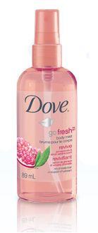 Dove go fresh revive pomegranate & lemon verbena