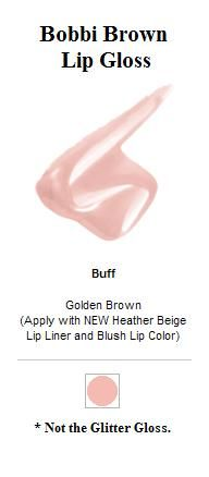 Bobbi Brown Lip Gloss in Buff 4
