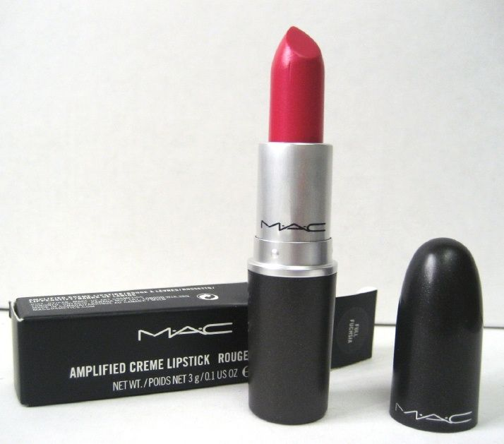 MAC Amplified Creme in Full Fuchsia