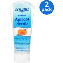 Equate Medicated Apricot Scrub