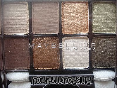 Maybelline Expert Eyes Eye Shadow - Sunbaked Neutrals