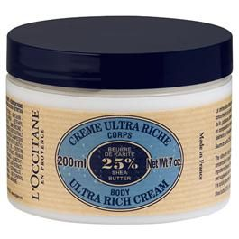 L'Occitane 25% shea butter ultra rich body cream