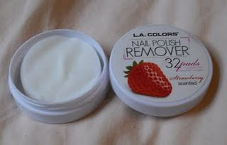 L.A. Colors Nail Polish Remover Pads