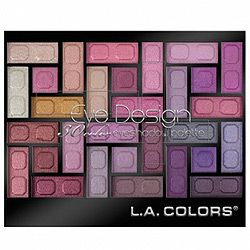 L.A. Colors Eye design # 74135 Invent - 30 color eye shadow palette