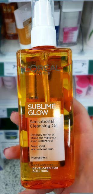 L'Oreal Sublime Glow - Sensational Cleansing Oil
