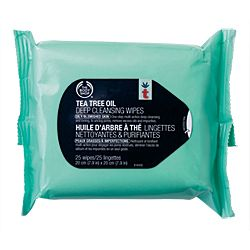 The Body Shop Tea Tree Oil Daily Cleansing Wipes