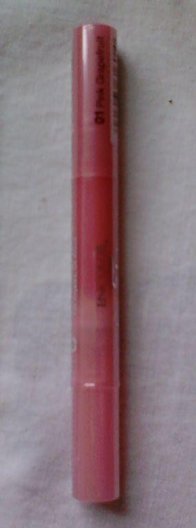 Jordana LipShine Shimmer Glaze Brush On Gloss - Pink Grapefruit
