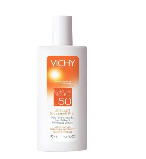 Vichy Capital Soleil SPF 50+ Sun Milk for Face and Body