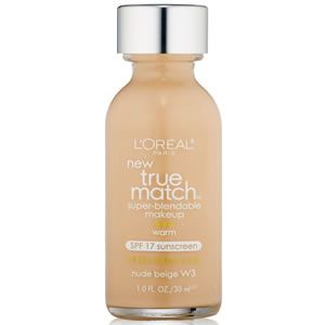 L'Oreal True Match Super-Blendable Makeup SPF 17