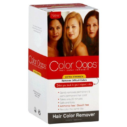 Extra Strength Hair Color Remover - Color Oops