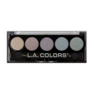 LA Colors 5 color metallic palette- 105 Chromatic