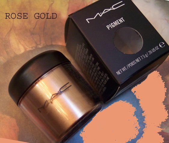MAC Pro Pigment - Rose Gold