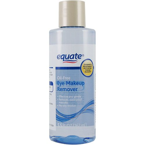 Equate Oil-Free Eye Makeup Remover reviews, photos, ingredients ...