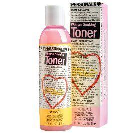 BeneFit Cosmetics Woman Seeking Toner
