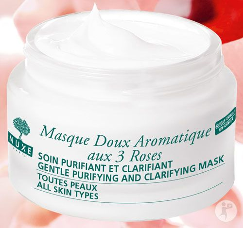 Nuxe Gentle Purifying and Clarifying Mask with 3 Roses (Masque Doux Aromatique aux 3 Roses)