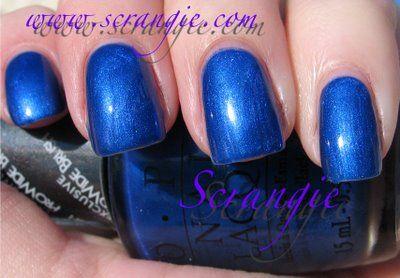 OPI Blue My Mind