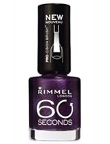 Rimmel 60 Seconds Nail Polish in Deliciously Dark