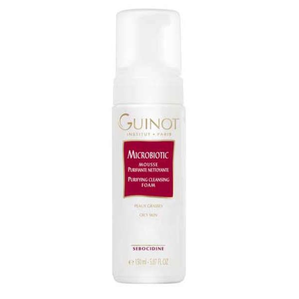Guinot Microbiotic Mousse Purifiante Nettoyante / Purifying Cleansing Foam