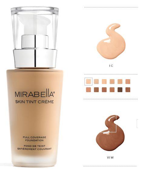 mirabella skin tint creme