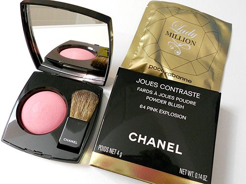 Chanel Joues Contraste in Pink Explosion 64