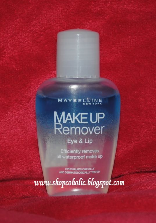 Maybelline Liquid Eye Makeup Remover