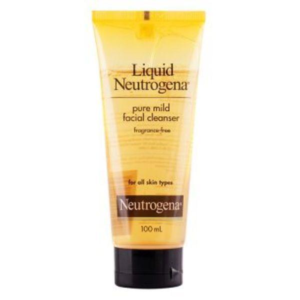 Neutrogena Liquid Neutrogena facial cleansing formula fragrance free