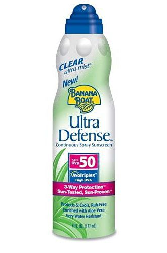 Banana Boat UltraMist Ultra Defense Spray SPF 50