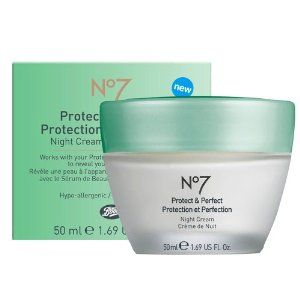 Boots  No 7 Protect & Perfect night cream