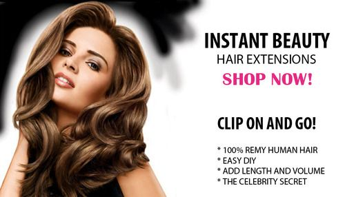 Instant Beauty Hair Extensions