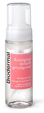 Biodermal - Cleansing mousse for sensitive skin