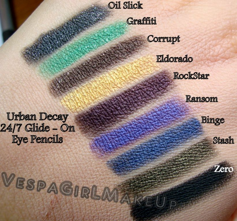 Urban Decay 24 7 Glide On Eye Pencil In Stash Reviews