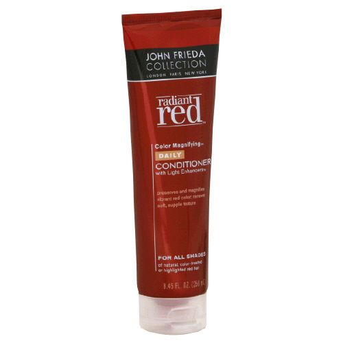 John Frieda Radiant Red Color Magnifying Daily Conditioner with Light Enhancers