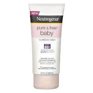 Neutrogena Pure & Free Baby SPF 60