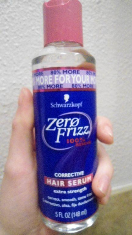 Schwarzkopf Zero Frizz Corrective Hair Serum Reviews