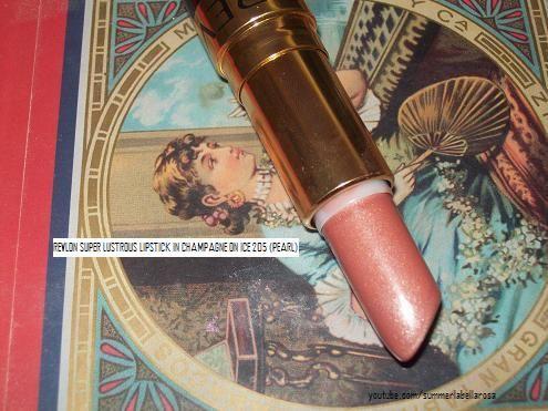 Revlon Super Lustrous Lipstick in Champagne on Ice